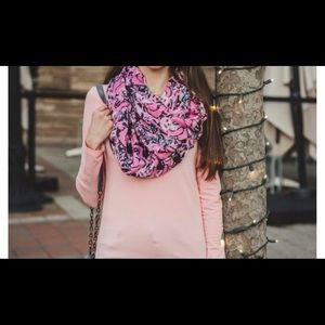 Lilly Pulitzer panda infinity scarf